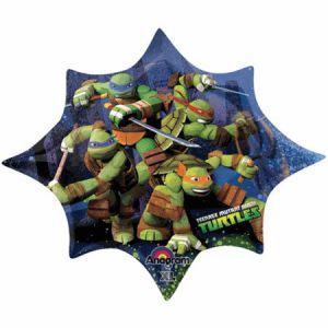 Globo helio tortugas ninja