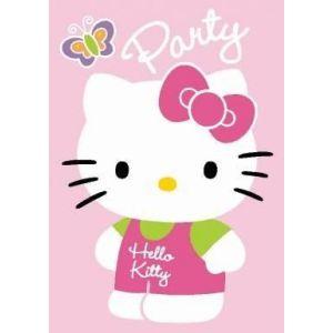 Invitaciones hello kitty con sobre 8 uni