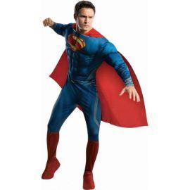 Disfraz superman hombre de acero deluxe