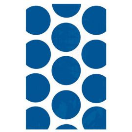 Bolsas papel lunares azul marino 10 und