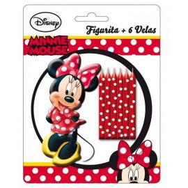 Set velas minnie mouse