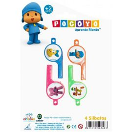 Set silbatos pocoyo