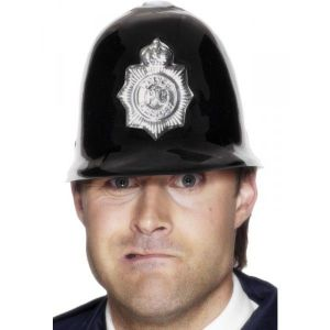 Casco policia ingles