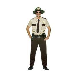 Disfraz policia montado