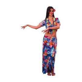 Disfraz hawaiana chica adulto