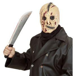 Mascara terror con cremallera
