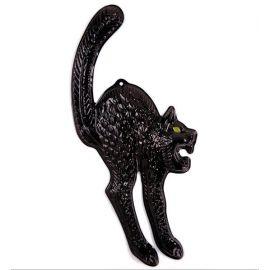 Gato decoracion ojo fluorescente