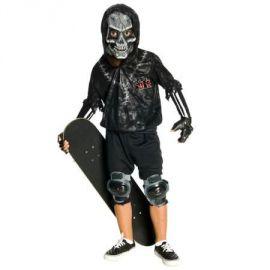 Disfraz skull skater infantil