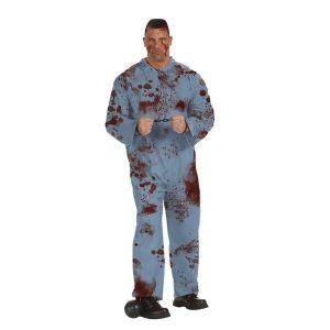 Disfraz convicto zombie adulto