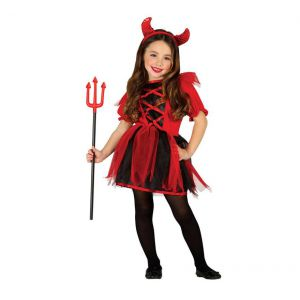 Disfraz diablesa infantil gu