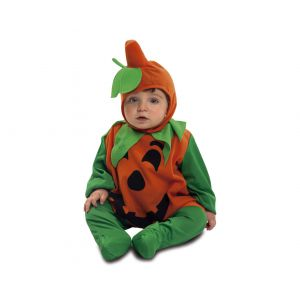 Disfraz bebe calabaza 7-12 meses