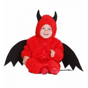 Disfraz bebe diablito deluxe