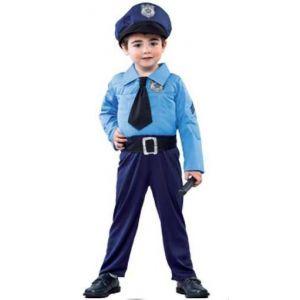 Disfraz policia ni?o de 2 a 4 a?os