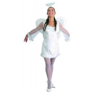 Disfraz angel terciopelo adulto