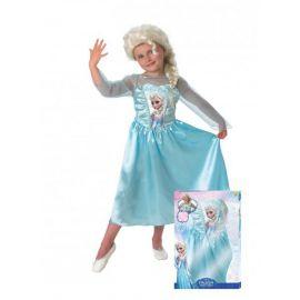 Disfraz elsa frozen con peluca