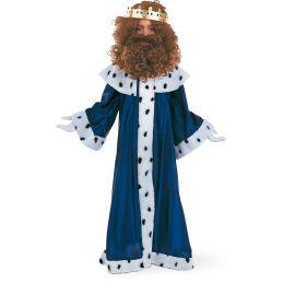 Disfraz rey mago melchor con corona