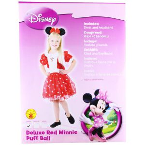Disfraz minnie mouse deluxe
