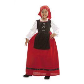 Disfraz pastora aldeana de 1 a 12 años