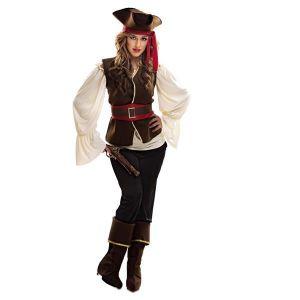 Disfraz pirata bucanera pantalon