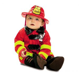 Disfraz bebe bombero de 7 a 12 meses