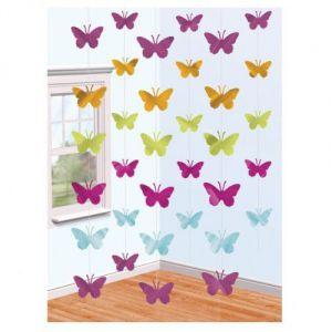 Decoracion colgante mariposas