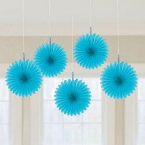 Flores colgantes azules pack 5 und