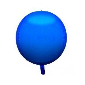 Globo helio esfera azul