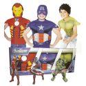 Cofre Los Vengadores 3 disfraces