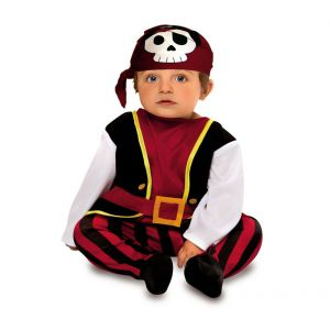 Disfraz bebe pirata 7-12 meses