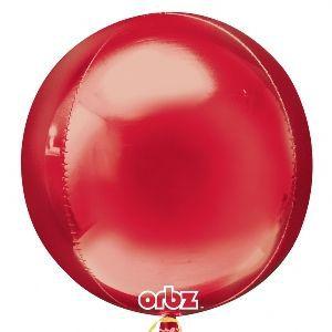 Globo helio esfera rojo