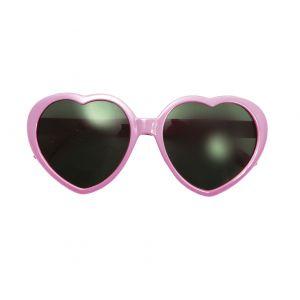Gafas corazones rosas