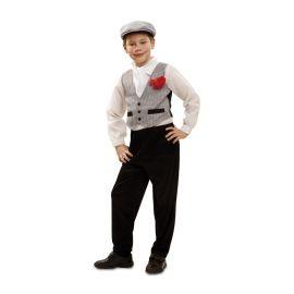 Disfraz madrileño chulapo infantil