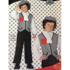 Disfraz chulapo madrileño infantil
