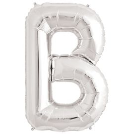 Globo helio letra b