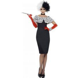 Disfraz señora de vil
