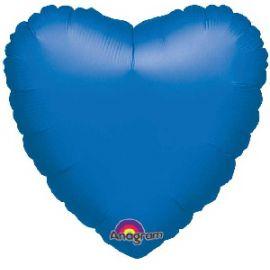 Globo helio corazon azul
