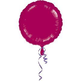 Globo helio circulo granate