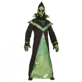 Disfraz w alien adulto con mascara