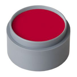 Maquillaje profesional al agua rojo