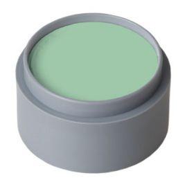 Maquillaje profesional al agua verde cla