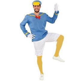 Disfraz patito marinero adulto