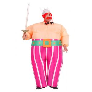 Disfraz obelix inflable