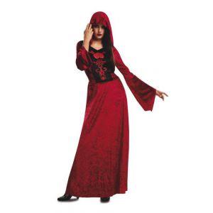 Disfraz vampiresa con capucha