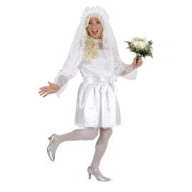 Disfraz novia chico xl