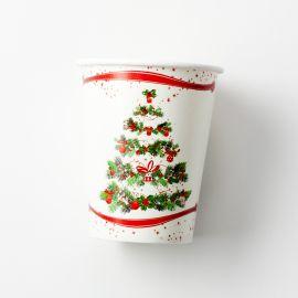 Vasos arbol de navidad