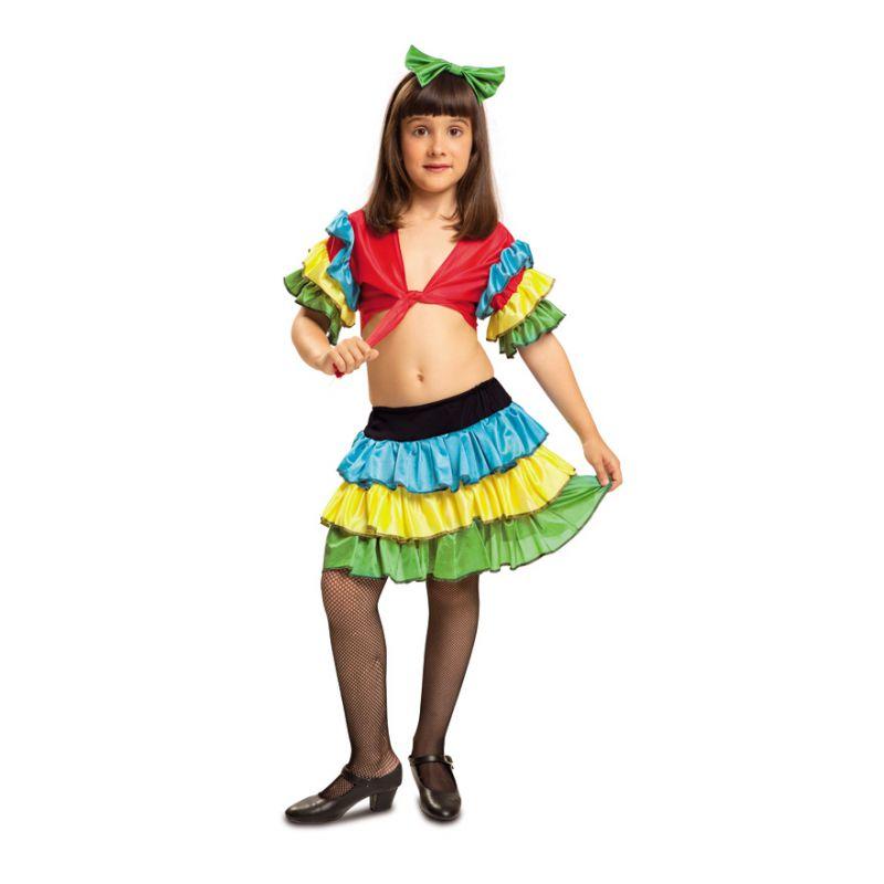 Disfraz rumbera infantil - Barullo.com