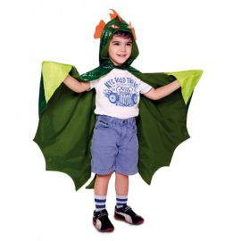 Disfraz dinosaurio capa infantil