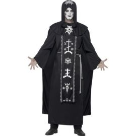 Disfraz ritual oscuro