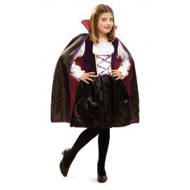 Disfraz vampira reina infantil