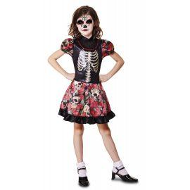 Disfraz niña dia de los muertos